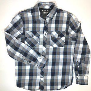 VANS Long Sleeve,  Button Down Shirt, Size S